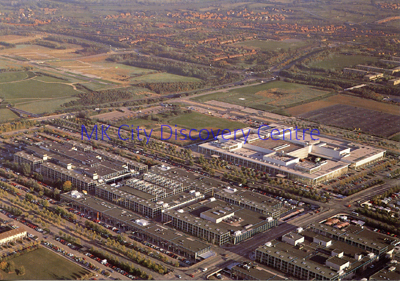 Aerial view of Central Milton Keynes | © Milton Keynes Development Corporation, Crown Copyright. Licensed under the Open Government Licence v3.0