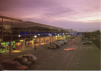 Central Milton Keynes Shopping Area [evening] | © Milton Keynes Development Corporation, Crown Copyright. Licensed under the Open Government Licence v3.0