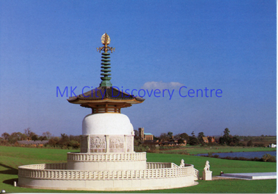 Peace Pagoda, Milton Keynes | © Milton Keynes Development Corporation, Crown Copyright. Licensed under the Open Government Licence v3.0