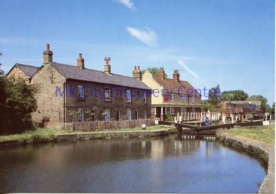 Lock Canal Cottages, Fenny Stratford   © Milton Keynes Development Corporation, Crown Copyright. Licensed under the Open Government Licence v3.0