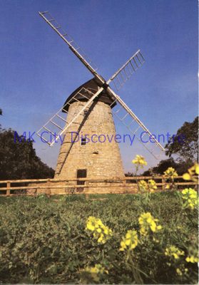 Bradwell Windmill | © Milton Keynes Development Corporation, Crown Copyright. Licensed under the Open Government Licence v3.0