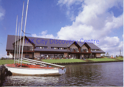 Willen Lake [Restaurant] | © Milton Keynes Development Corporation, Crown Copyright. Licensed under the Open Government Licence v3.0