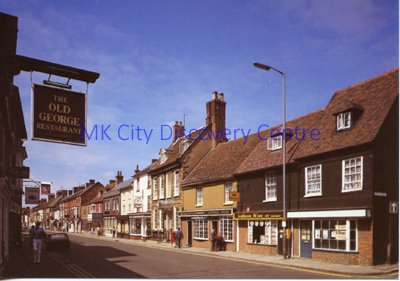 High Street, Stony Stratford | © Milton Keynes Development Corporation, Crown Copyright. Licensed under the Open Government Licence v3.0