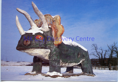 The Dinosaur | © Milton Keynes Development Corporation, Crown Copyright. Licensed under the Open Government Licence v3.0