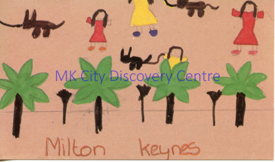 Milton Keynes - trees | © Milton Keynes Development Corporation, Crown Copyright. Licensed under the Open Government Licence v3.0