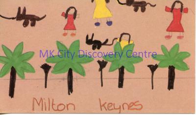 Milton Keynes - trees | © Milton Keynes Development Corporation, Crown Copyright. Licensed under the Open Government Licence v3.0
