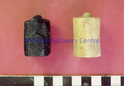 Medieval Chessmen | © Milton Keynes Development Corporation, Crown Copyright. Licensed under the Open Government Licence v3.0