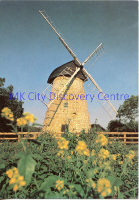 Bradwell Windmill, New Bradwell | © Milton Keynes Development Corporation, Crown Copyright. Licensed under the Open Government Licence v3.0