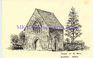 Chapel of St Mary, Bradwell Abbey