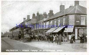 Wolverton - Steam Trams in Stratford Road