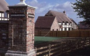 Woolstones Thatched Houses