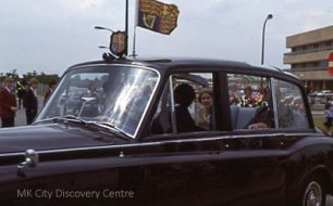 Royal Visit to MK