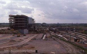 Milton Keynes New Railway Station Under Construction