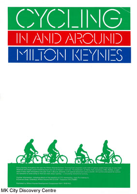 Cycling in and around Milton Keynes | © Milton Keynes Development Corporation, Crown Copyright. Licensed under the Open Government Licence v3.0