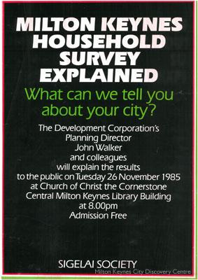 Milton Keynes Housing Survey Explained   © Milton Keynes Development Corporation, Crown Copyright. Licensed under the Open Government Licence v3.0