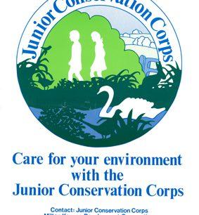 Junior Conservation Corps | © Milton Keynes Development Corporation, Crown Copyright. Licensed under the Open Government Licence v3.0