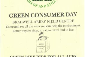Green Consumer Day at Bradwell Abbey Field Centre