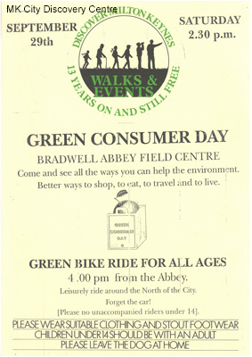 Green Consumer Day at Bradwell Abbey Field Centre | © Milton Keynes City Discovery Centre