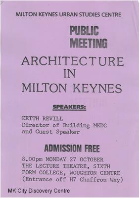 Architecture in Milton Keynes | © Milton Keynes City Discovery Centre