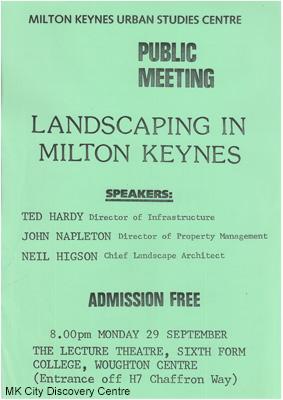 Landscaping in Milton Keynes | © Milton Keynes City Discovery Centre