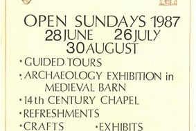 Bradwell Abbey Field Centre Open Sundays