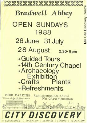 Bradwell Abbey Open Sundays | © Milton Keynes City Discovery Centre
