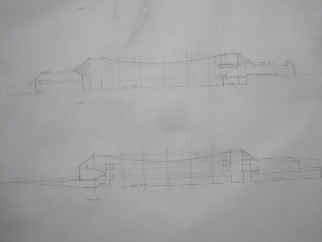 Wolverton Agora Elevations and Sections