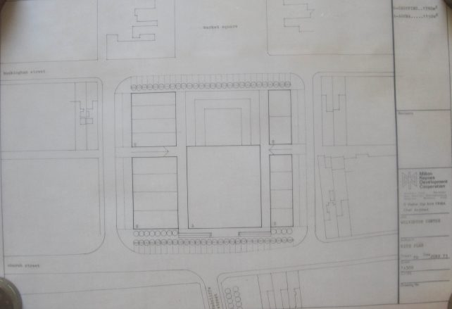 Wolverton Agora Site Plan