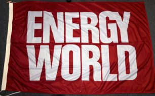Energy World Flag