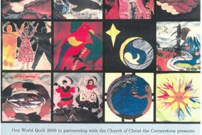 One World Quilt 2000. Common Threads
