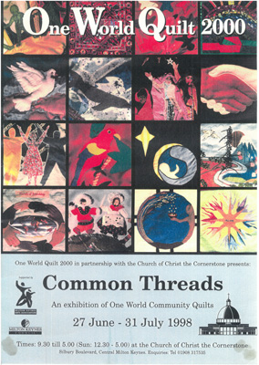One World Quilt 2000. Common Threads | © Milton Keynes City Discovery Centre