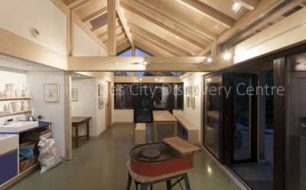 Loughton Arts Studio Dusk-2